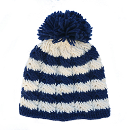 betty-louise-studio-multi-stripe-hat-navy-and-ivory-navy-pom